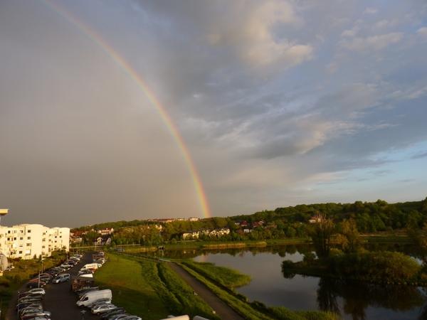 rainbow, Gdańsk